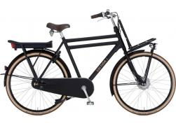 Cortina E-U4 Transport 8V Jet Black Matt Herenfiets