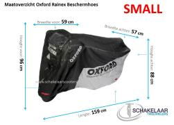 Oxford Rainex Beschermhoes Scooter - Small