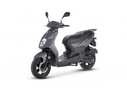 Sym Orbit II 50 Mat Grey EURO4 45km